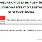 L'évaluation de la «reingéniérie» du diplôme d'assistant de service social