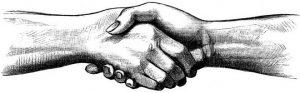 poignc3a9e de mains