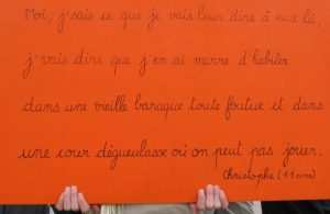 pancarte christophe