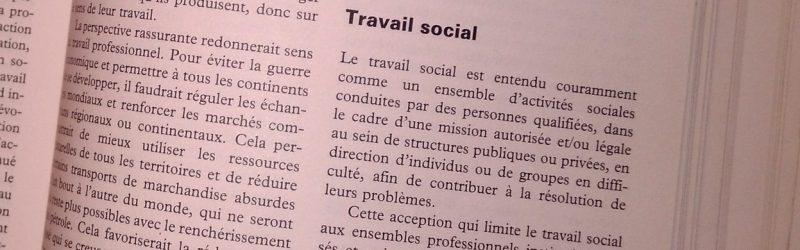 Mais Qu Est Devenue La Definition Officielle Du Travail Social