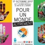 Journée mondiale du refus de la misère, les actions et les réactions