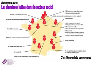 carte de France mouvements dans le social1