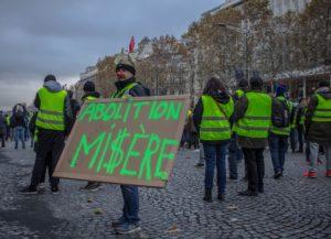 gilets jaunes abolition misère