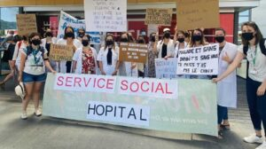 service social hospitalier en greve
